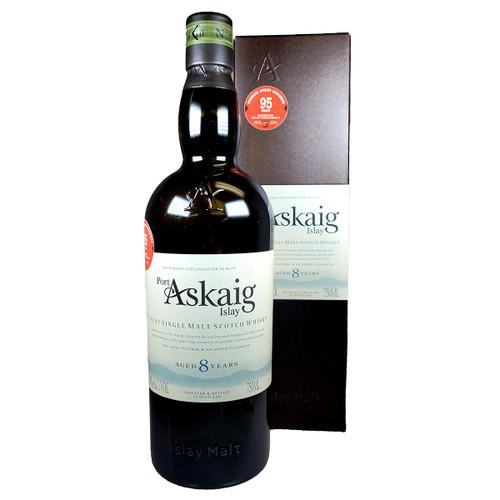 Port Askaig 8 Year Islay Single Malt Scotch Whisky 750ml