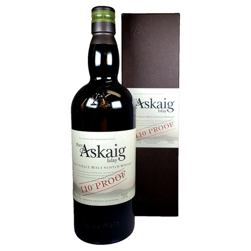 Port Askaig 110 Proof Islay Single Malt Scotch Whisky