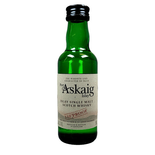 Port Askaig 110 Proof Islay Single Malt Scotch Whisky 50ml