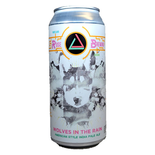 Ruse Wolves In The Rain American Style IPA Can