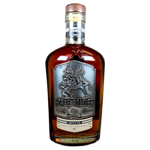 Horse Soldier Reserve Barrel Strength Bourbon Whiskey