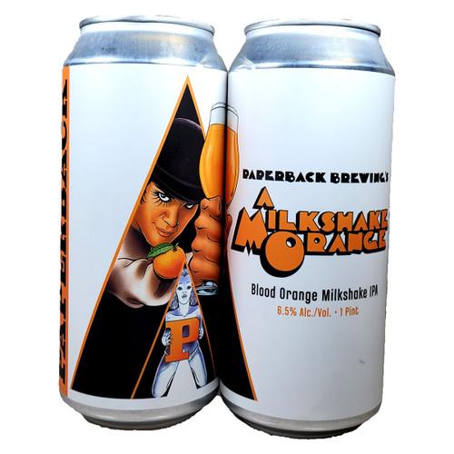 Paperback A Milkshake Orange IPA Can