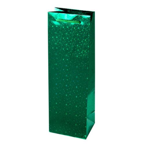 Sparkling Green Foil Gift Bag