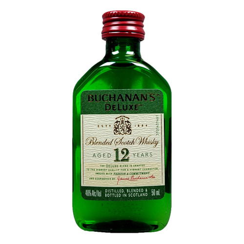 Buchanan's 12 Year Blended Scotch Whisky 50ML
