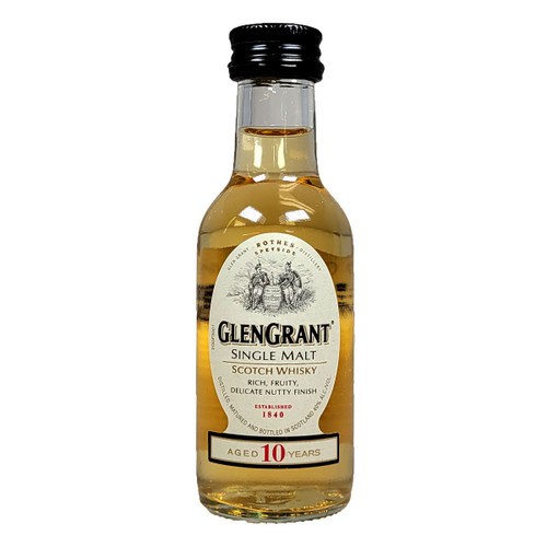 Glen Grant  10 Year Single Malt Scotch Whisky 50ml