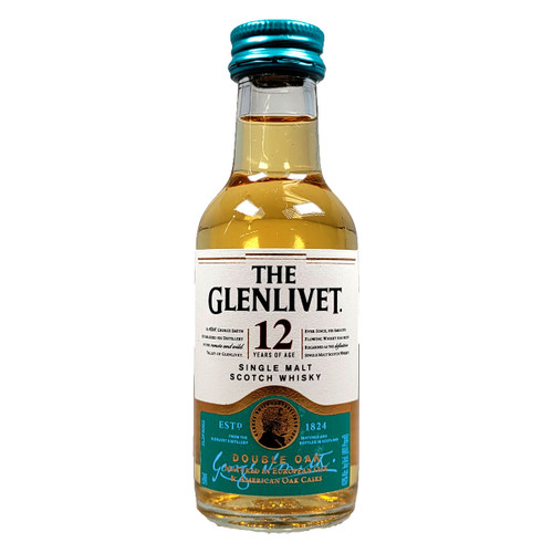 The Glenlivet 12 Year Single Malt Scotch Whisky 50ml