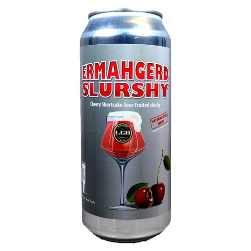 Local Craft Beer Ermahgerd Slurshy Cherry Shortcake Sour Fruited Slushy Can