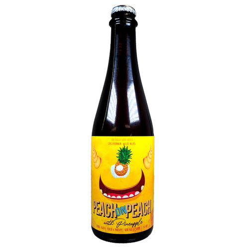 California Wild Ales Peach On Peach with Pineapple Barrel Aged Sour Ale