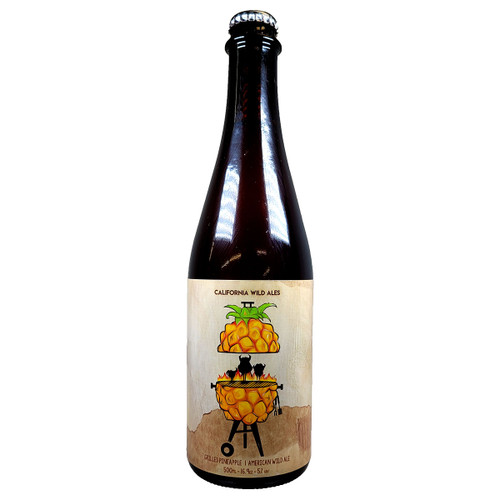 California Wild Ales Grilled Pineapple Barrel Aged American Wild Ale