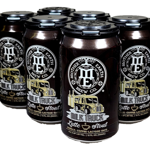 Mother Earth Milk Truck Latte Stout 6-Pack Can