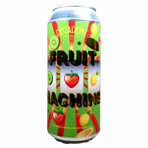 Decadent Ales Fruit Machine Gose Style Ale