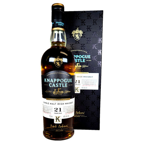 Knappogue Castle 21 Year Old Irish Whisky Exclusive Cask Vatting