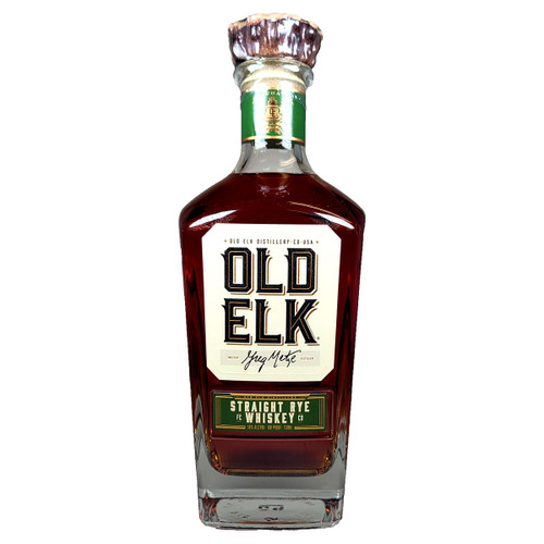 Old Elk Straight Rye Whiskey