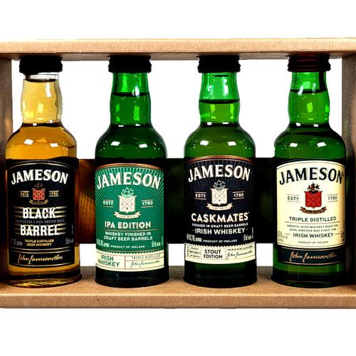 Jameson Irish Whiskey Combo 4-Pack 50ML