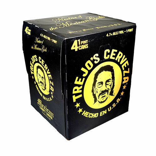 Trejo's Cerveza 4-Pack Can