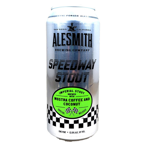 AleSmith Speedway Stout Mostra Coffee and Coconut Can