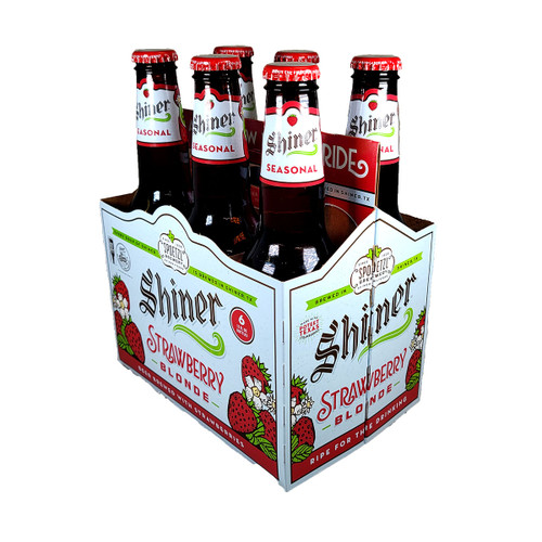 Shiner Strawberry Blonde 6-Pack