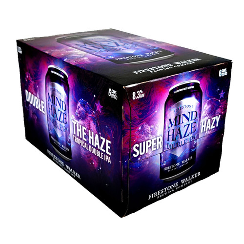 Firestone Mind Haze Double IPA 6-Pack Can