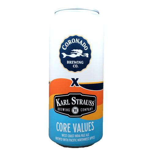 Coronado / Karl Strauss Core Values IPA Can