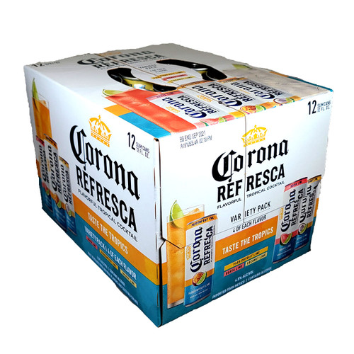 Corona Refresca Premium Spiked Refresher 12-Pack Can