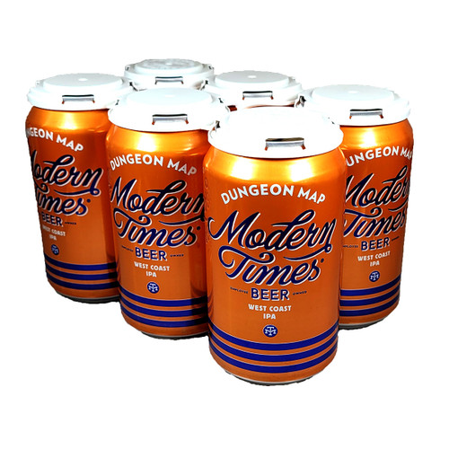 Modern Times Dungeon Map West Coast IPA 6-Pack Can