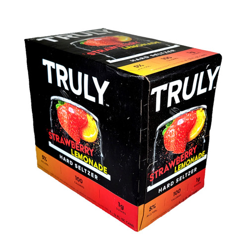 Truly Strawberry Lemonade Hard Seltzer 6-Pack Can
