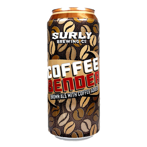 Surly Coffee Bender Brown Ale Can