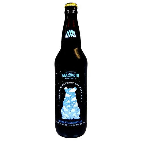 Mammoth 25th Anniversary Sky Bear Ale Belgian-Style Quadrupel Ale