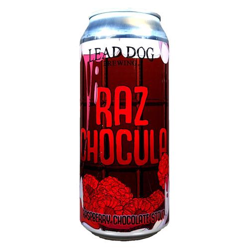 Lead Dog Raz Chocula Raspberry Chocolate Stout Can