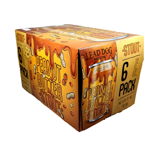 Lead Dog Peanut Butter Stout 6-Pack Can