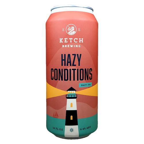 Ketch Hazy Conditions Hazy IPA Can