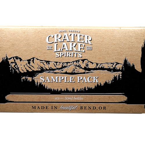 Crater Lake Spirits 6X50ml Sampler Pack
