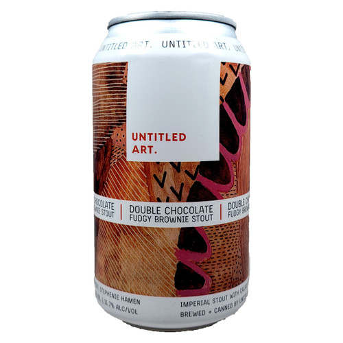 Untitled Art Double Chocolate Fudgy Brownie Stout Can