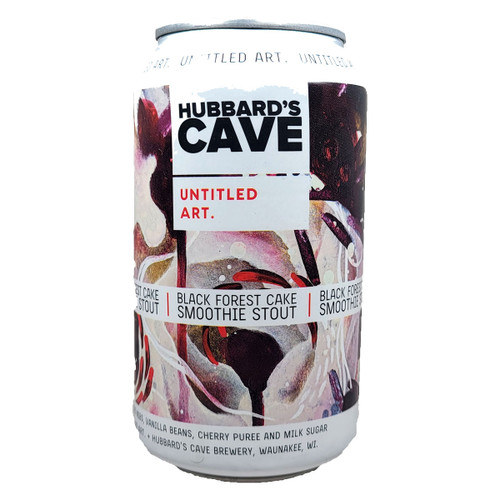 Untitled Art / Hubbard's Cave Black Forest Cake Smoothie Stout Can