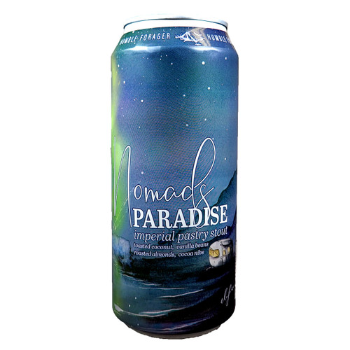 Humble Forager Nomad's Paradise Imperial Pastry Stout Can