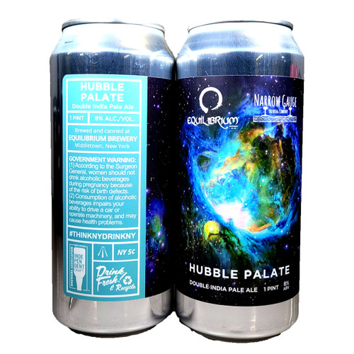 Equilibrium / Narrow Gauge Hubble Palate Double IPA Can