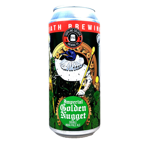 Toppling Goliath Imperial Golden Nugget Double IPA Can