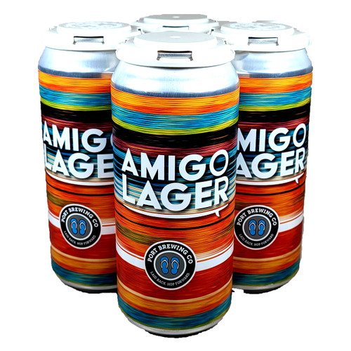 Port Brewing Amigo Mexican-Style Lager 4-Pack Can