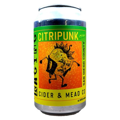 Raging Cider Citripunk Cider Can