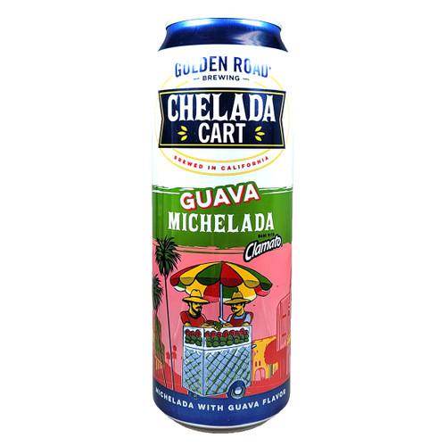 Golden Road Chelada Cart Guava Michelada Can