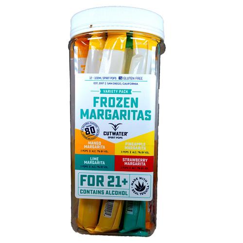 Cutwater Frozen Margaritas Spirit Pops Variety 100ml