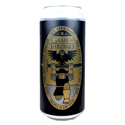 Mikkeller SD Game Of Thrones Iron Anniversary IPA Can