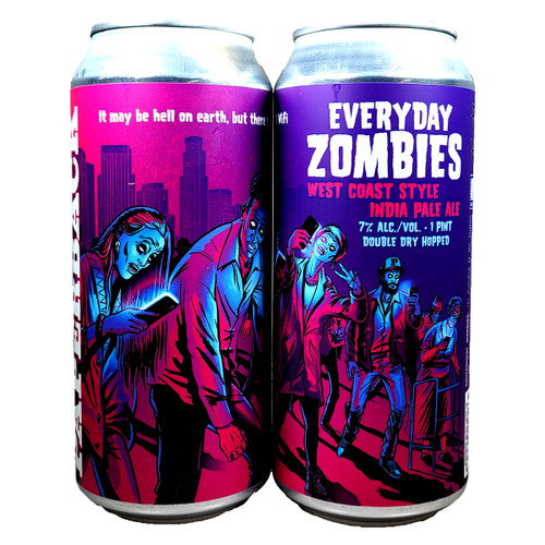 Paperback Everyday Zombies West Coast Style IPA Can