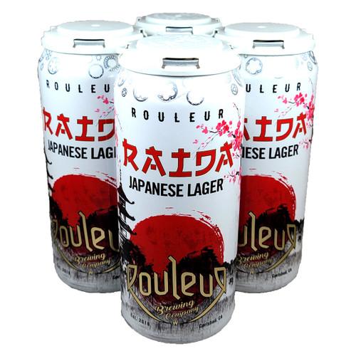 Rouleur Raida Japanese Lager 4-Pack Can