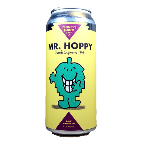 North Park Mr. Hoppy Dank Supreme IPA Can