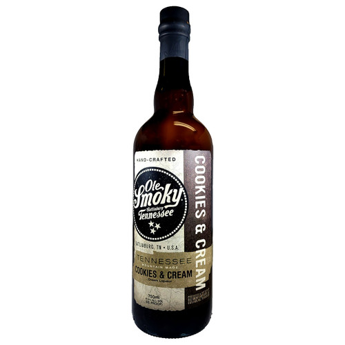 Ole Smoky Tennessee Whiskey Cookies & Cream Liqueur