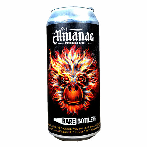 Almanac / Bare Bottle Simian Squad Hazy DIPA Can