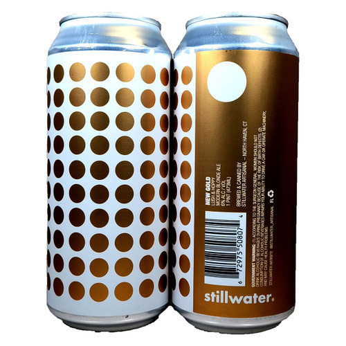 Stillwater New Gold Modern Blonde Ale Can