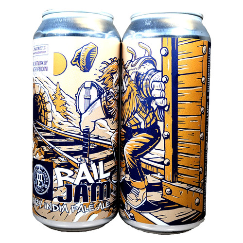 Mother Earth Rail Jam Hazy IPA Can