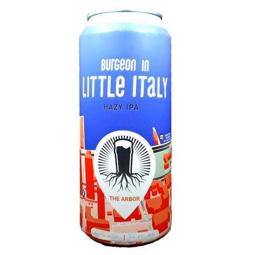 Burgeon Little Italy Hazy IPA Can